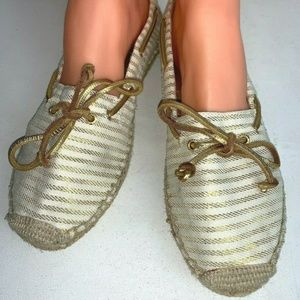 NEW Womens SPERRY TOP-SIDER Espadrille Slip On 10M
